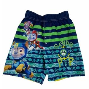 Boy's Nickelodeon Paw Patrol swim trunks size 3t